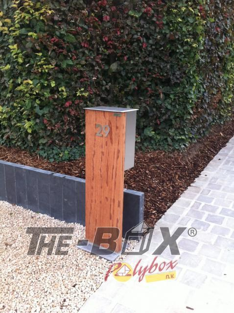 Brievenbus WoodBox b0301